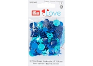 "Кнопки Prym Love 393060 ""Color Snaps"" звезда d13,6 (21шт.)"