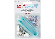 "Кнопки Prym Love 390700 ""Jersey Color"" кольцо 8мм (21шт.)"